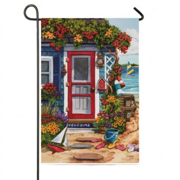 Sea Shore Garden Flag (Two Flags in One)