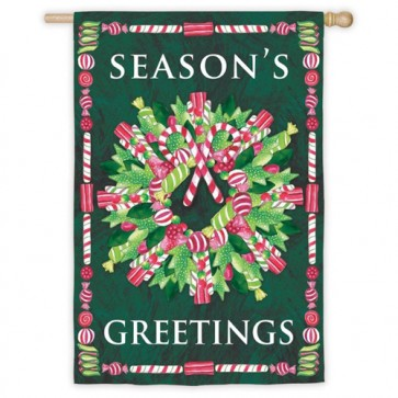 Season's Greetings House Flag
