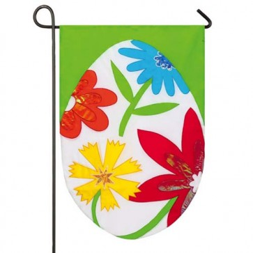 Spring Easter Egg Garden Flag