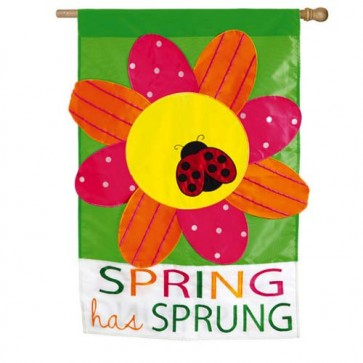 Spring has Sprung House Flag