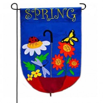Spring Showers Garden Flag