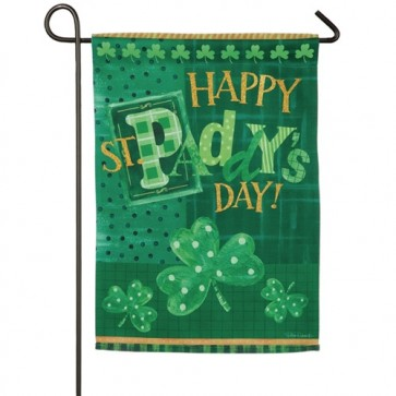 St Paddy's Day Garden Flag
