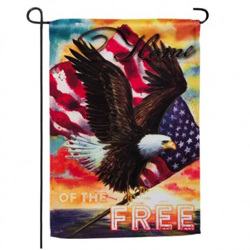 Star Spangled Eagle Garden Flag