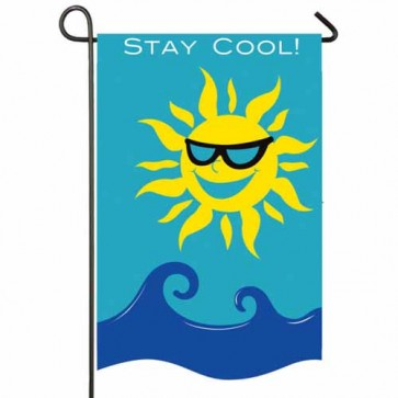 Stay Cool Garden Flag