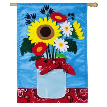 Summer Bouquet House Flag
