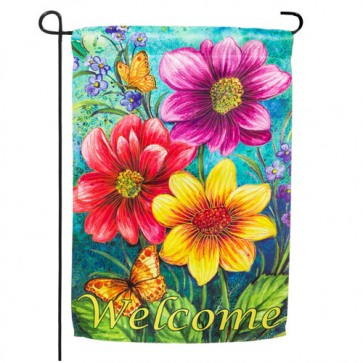 Summer Flowers Garden Flag