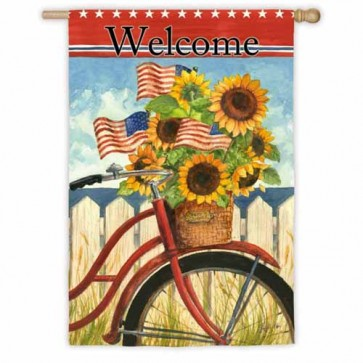 Summer Ride House Flag