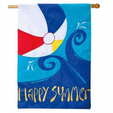 Summer Splash House Flag