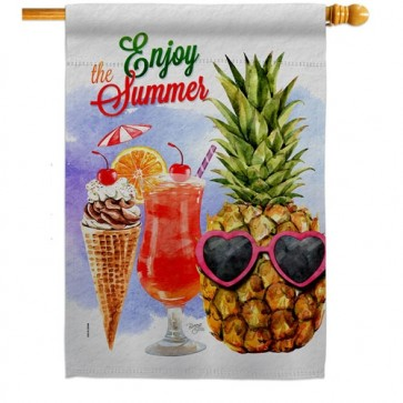Summer Sweets House Flag