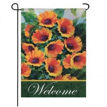 Sunflowers Garden Flag