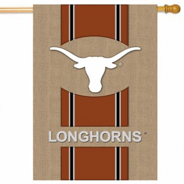 Texas Longhorns College House Flag