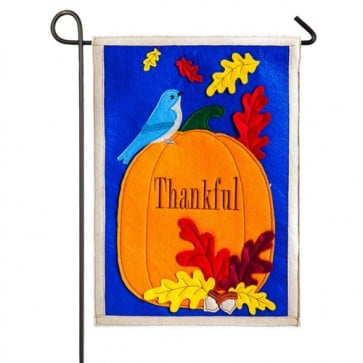Thankful Garden Flag (Felt)
