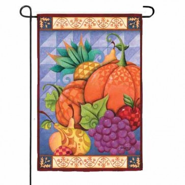 Thankful Harvest    Garden Flag