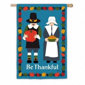 Thankful Pilgrims House Flag