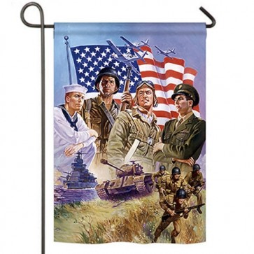 The Armed Forces Garden Flag