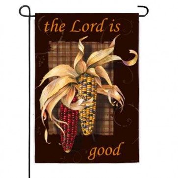 The Lord is Good Garden Flag