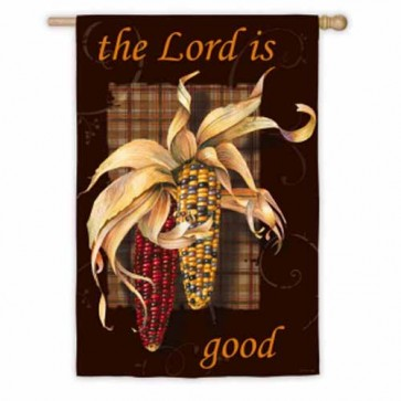 The Lord is Good House Flag