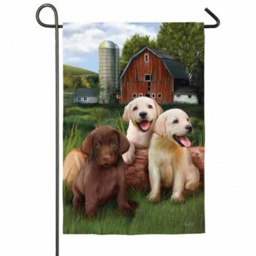 The Three Amigos Garden Flag