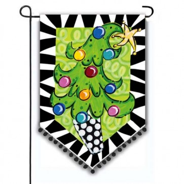 Tom Tom Tree Garden Flag