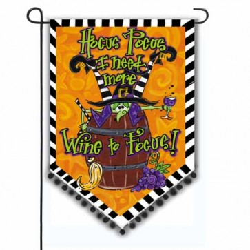 Hocus Pocus Witch Garden Flag