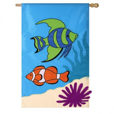 Tropical Fishes House Flag