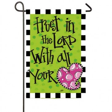 Trust in the Lord Garden flag