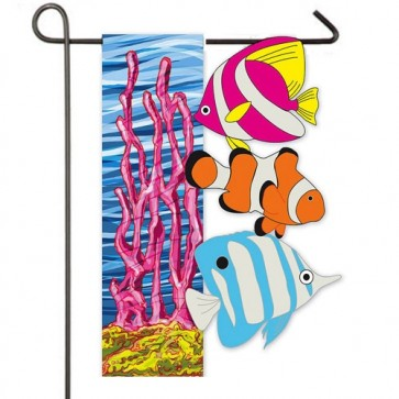 Under the Sea Garden Flag