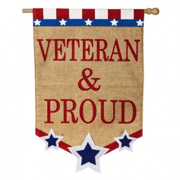 Veteran and Proud House Flag