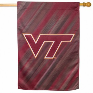 Virginia Tech House Flag