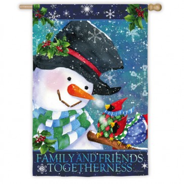 Warm Wishes Sweater House Flag
