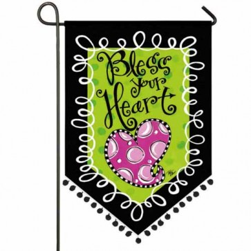Well Bless your Heart Garden Flag