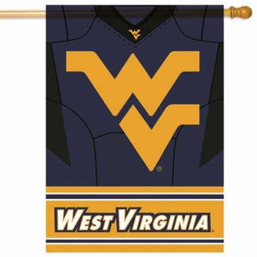 West Virginia Mountaineers College House Flag