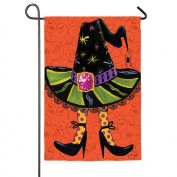 Witches Hat Garden Flag
