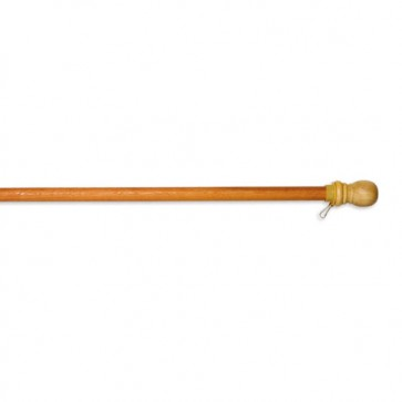 Standard 5 Foot Wood Flagpole