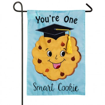 Your one Smart Cookie Graduation Garden Flag