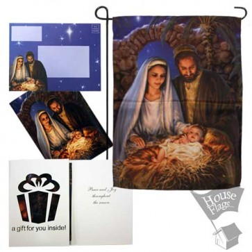 Holy Family Garden Flag (EverGreetings Set)