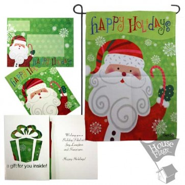 Santa Garden Flag (EverGreetings Set)