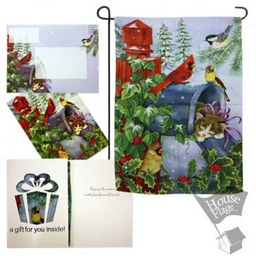 Special Delivery Garden Flag (EverGreetings Set)