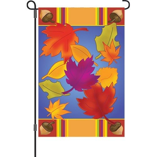 Dancing Leaves Garden Flag Garden Flags On Sale Flags