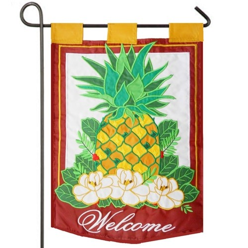Pineapple Garden Flag