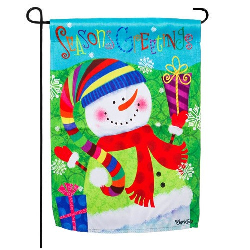 Snowman Garden Flag Garden Flags On Sale Flags On Sale