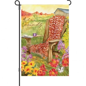 Autumn Tranquility Fall Garden Flag