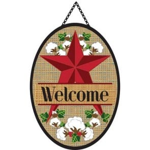 Barn Star Door Banner