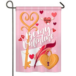 Be My Valentine Garden Flag