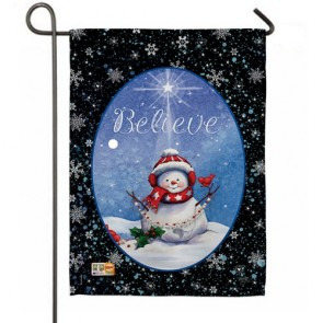 Believe Garden Flag