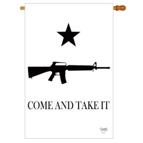 COME AND TAKE IT   House flag