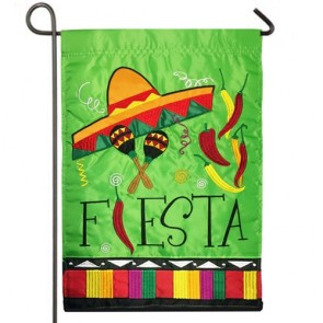 Fiesta Party Garden Flag