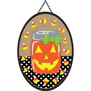 Halloween Mason Jar Door Banner