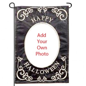 Halloween Photo Flag  (Garden Size)