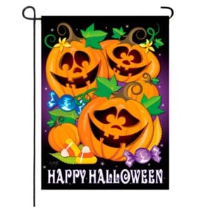 Happy Pumpkins Garden Flag